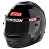 Simpson Jr. Speedway Shark Sfi 24.1 Racing Helmet