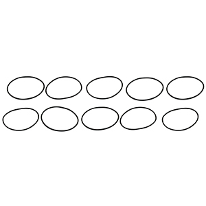 "Aeromotive 12001 Replacement O-Ring, Filter Housing, 10-pak, Fits All In-Line 2"" OD Filter Housings (12301/12304/12306/12307/12321/12324/12331, etc)"