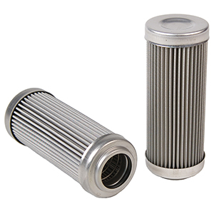 "Aeromotive 12602 Replacement Element, 100-m Stainless Mesh, for 12302/12309 Filter Assembly, Fits All 2-1/2"" OD Filter Housings"