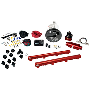 Aeromotive 17303 System, 05-09 Mustang GT, 18676 A1000, 14116 4.6L 3V Rails, 16306 PSC & Misc. Fittings