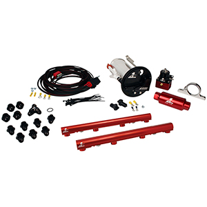 Aeromotive 17310 System, 07-12 Shelby GT500, 18682 A1000, 14116 4.6L 3V Rails, 16307 Wire Kit & Misc. Fittings