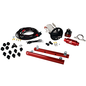 Aeromotive 17312 System, 07-12 Shelby GT500, 18682 A1000, 14144 5.4L Rails, 16307 Wire Kit & Misc. Fittings
