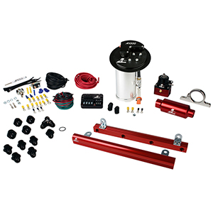 Aeromotive 17321 System, 10-13 Mustang GT, 18694 A1000, 14144 5.4L Rails, 16306 PSC & Misc. Fittings