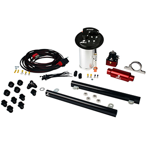 Aeromotive 17322 System, 10-13 Mustang GT, 18694 A1000, 14141 5.4L Cobra Jet Rails, 16307 Wire Kit & Misc. Fittings