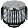aFe Power 18-01382 Magnum Flow Pro Dry S Air Filter - 1-3/8 F x 3 B x 3 T(Chr w/HS) x 2-1/2 H in