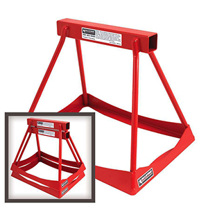 "Stack Stands 14"" Steel Red"