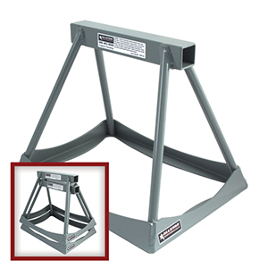 "Allstar Performance ALL10255 Stack Stands 14"" Aluminum Silver"