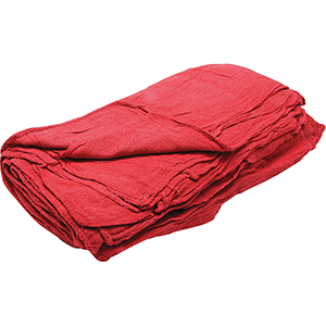 Shop Towels Red, 25 Count Bag