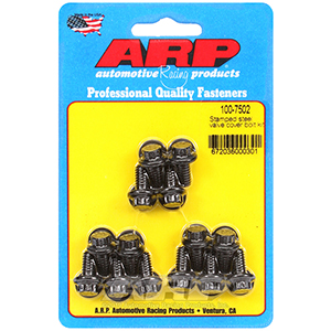 ARP 100-7502 Stamped steel 12pt valve cover bolt kit