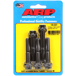 ARP 130-3201 Chevy 12pt water pump bolt kit