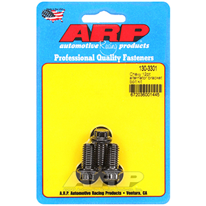 ARP 130-3301 Chevy 12pt alternator bracket bolt kit
