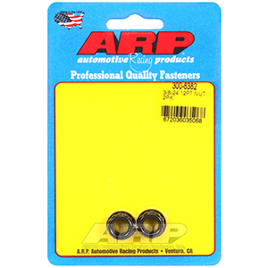 ARP 300-8382 3/8-24 1/2 socket, .645 flange OD, 12pt nut kit