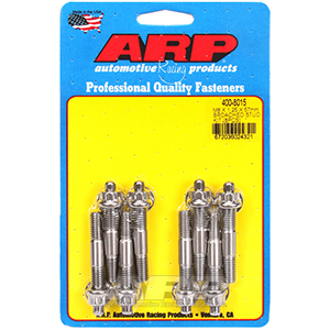 ARP 400-8015 M8 X 1.25 X 57mm broached stud kit - 8pcs