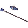 ATL Tf265 Fuel Cell Dipstick - 6An Cap, 6An Bulkhead, 16 Cut-To-Length Stick