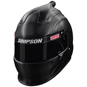 Simpson Carbon Fiber Air Inforcer Vudo SA2015 Racing Helmet 7 1/2 662712C