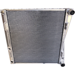 BSC Lightweight Double Pass Aluminum Radiator With Mounts For Northeast Dirt Modified