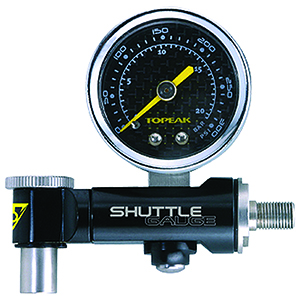 Topeak Shuttle Air Pressure Gauge Dial with Case