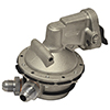 Cast SBC Fuel Pump - 8An In / 8An Out, Steel Fittings, 45Gph @ 7.5-8.0 Psi