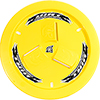 Dirt Defender Vented Wheel Cover, Yellow