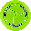 Dirt Defender Vented Wheel Cover, Neon Green