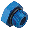 Earls Adapter Fittings - O-Ring Port Plug