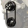 Jones Racing Crate Engine Serpentine CS To Water Pulley Belt Drive