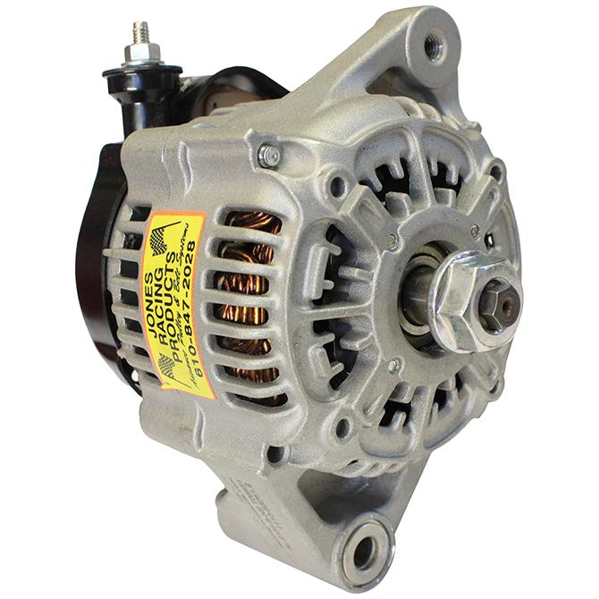 Jones Racing 55 Amp Single Wire Alternator Switchless Al 9101 B Ns