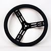 Longacre 15In Alu Black Steering Whe