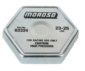 Moroso Performance Radiator Cap 24 Lbs 63324 Behrents Com