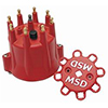 Distributor Cap, Msd Style, Chevy V8, Hei, Retainer