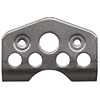PANELfast .074 Light Flat Weld Plate Notched 1in. Spring