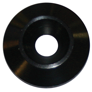 PANELfast Black 1in. Aluminum Washer 1/4in. Tapered Hole