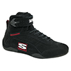 Simpson Adrenaline High Top Racing Shoes, Black, Size 14