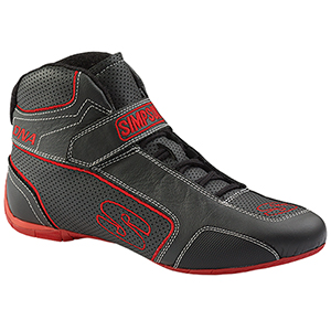 Simpson Dna Shoes Size 14 Black/Red Da140R