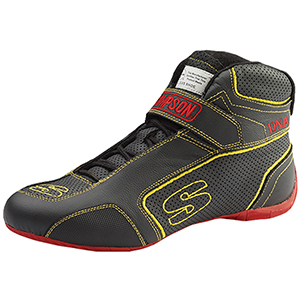 Simpson Dna Shoes Size 10.5 Black/Yellow Da105Y
