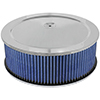 aFe Power 18-21403 Magnum Flow Pro 5R Air Filter - Chrome Assembly; 14 D x 5 H in E/M