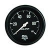 "Auto Meter 2312 Auto Gage Mechanical 2-5/8"" Oil Pressure Gauge, 0-100 PSI"