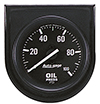 "Auto Meter 2332 Auto Gage Mechanical 2-1/16"" Oil Pressure Gauge, 0-100 PSI"