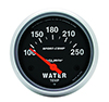 "Auto Meter 3531 Sport-Comp Electrical 2-5/8"" Water Temperature Gauge, 100-250 F"