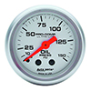 "Auto Meter 4323 Ultra-Lite 2-1/16"" Oil Pressure Gauge, 0-150 PSI Mechanical"