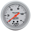 "Auto Meter 4411 Ultra-Lite 2-5/8"" Fuel Pressure Gauge, 0-15 PSI Mechanical"