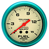 "Auto Meter 4511 Ultra-Nite 2-5/8"" Fuel Pressure Gauge, 0-15 PSI Mechanical"