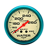 "Auto Meter 4531 Ultra-Nite 2-5/8"" Water Temperature Gauge, 140-280 F Mechanical"