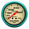 "Auto Meter 4535 Ultra-Nite 2-5/8"" Water Temperature Gauge, 140-280 F Mechanical"