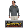 Behrent's Quarter Zip 8oz. Fleece Pullover - Charcoal Harriton