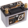 527 Amps L 5.8 W 3.4 H 4.2 WEIGHT 6.9Ibs Braille Lightweight Advanced AGM Racing Battery