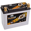 1168 Amps L 8.1 W 3.5 H 6.3 WEIGHT 18.5Ibs Braille Lightweight Advanced AGM Racing Battery