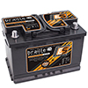 2390 Amps L 10.9 W 6.8 H 7.5 WEIGHT 45Ibs Braille Endurance Advanced AGM Battery