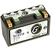 214 Amps L 7.5 W 5.9 H 2.57 WEIGHT 3.58 Lithium GREEN-LiTE 12 Volt Battery