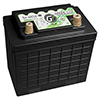947 Amps L 39 W 7.68 H 5.13 WEIGHT 7.13 Lithium GREEN-LiTE 12 Volt Battery